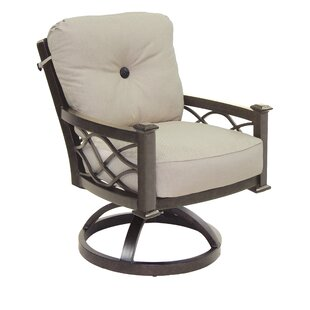 La Reserve Swivel Rocking Chair with Cushion