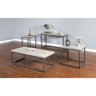 Best Price Kierra Coffee Table Set By Union Rustic