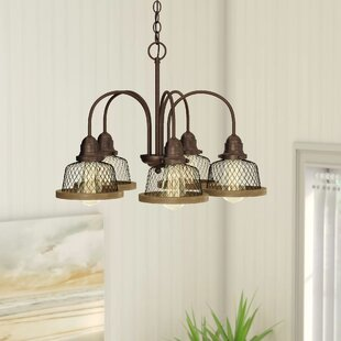 Murillo 5-Light Shaded Chandelier by Beachcrest Home