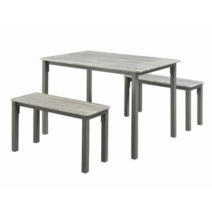 Rossiter 3 Piece Dining Set