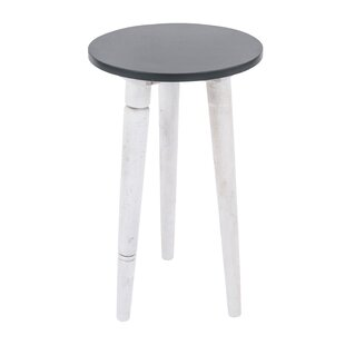 Marbleton Mango Accent Side End Table By Ebern Designs