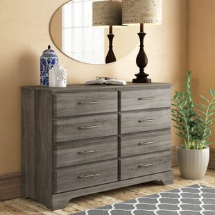 Ciara 8 Drawer Double Dresser