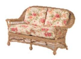Astounding Cottage Loveseat With Cushions Inzonedesignstudio Interior Chair Design Inzonedesignstudiocom