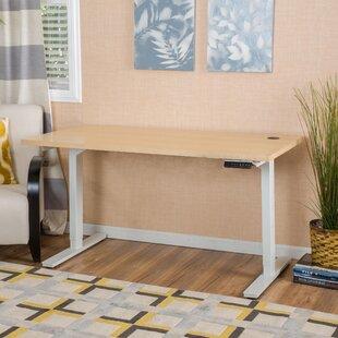 Latitude Run Kursk Height Adjustable Standing Desk with Dual Motors