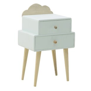 Mellen 2 Drawer Nightstand By Zoomie Kids