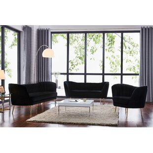 Everly Quinn Canh Configurable Living Room Set