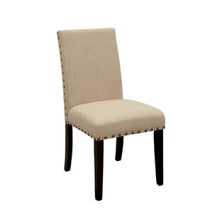 Bodine Upholstered Dining Chair (Set of 2) by Charlton Home