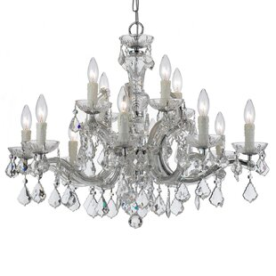 Marianne 12-Light Candle Style Chandelier
