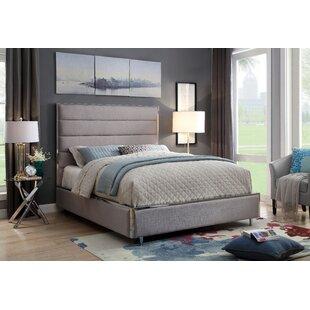Brayden Studio Rosa Upholstered Panel Bed