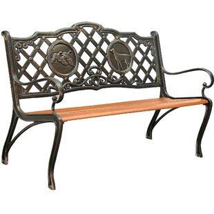 Innova Hearth and Home Hunting Cast Iron Park Bench