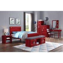 Red Kids Bedroom Sets You'll Love in 2021   Wayfair