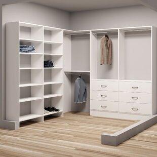 Compare & Buy Demure Design 93W - 96.25W Closet System ByTidySquares Inc.
