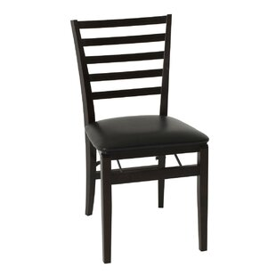 Shop for Contoured Back Wood Padded Folding Chair (Set of 2) by Cosco Home and Office