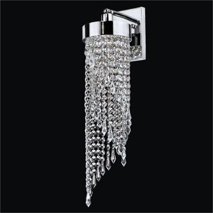 Glow Lighting Intuition 1-Light Armed Sconce