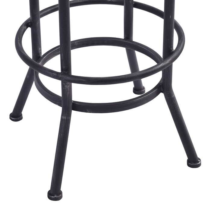 Surprising Poitras Adjustable Height Swivel Bar Stool Caraccident5 Cool Chair Designs And Ideas Caraccident5Info