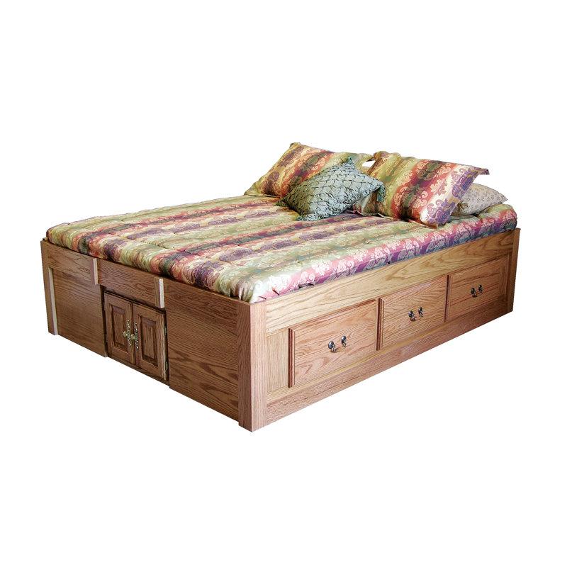 Loon Peak Kuhn Queen Solid Wood Storage