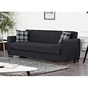 Latitude Run Athesh 83 Square Arm Sleeper Wayfair