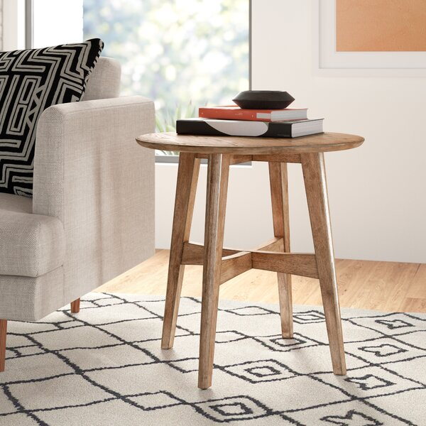 Modern Contemporary Low Profile Side Table Allmodern