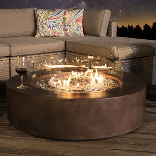 Concrete Propane Fire Pit Table By COSIEST