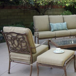 Trisara Club Chair and Ottoman with Cushion