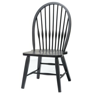 ClipperCove Solid Wood Dining Chair August Grove
