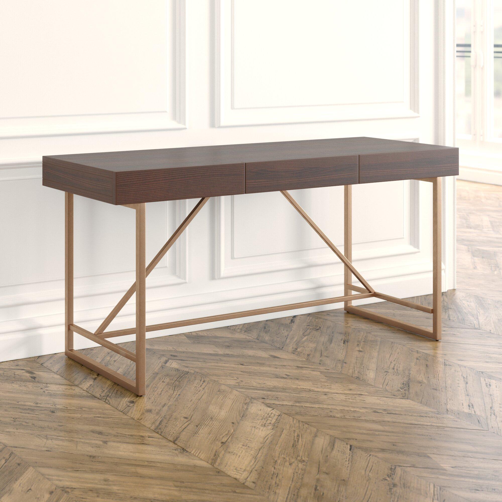 narayanan contemporary rectangular writing desk reviews joss main rh jossandmain com