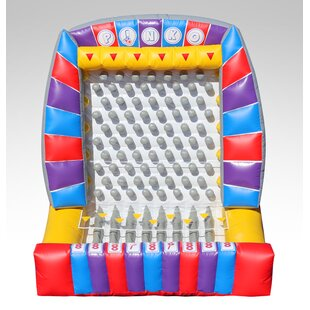 EZ Inflatables Inflatable Plinko Bounce House