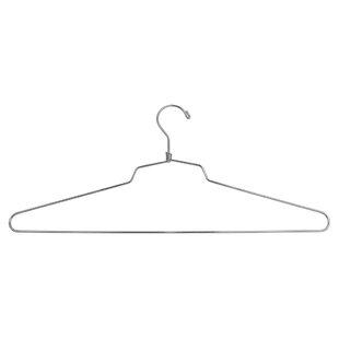 Comparison Scarlett Blouse or Dress Metal Non-Slip Hanger (Set of 100) By Rebrilliant