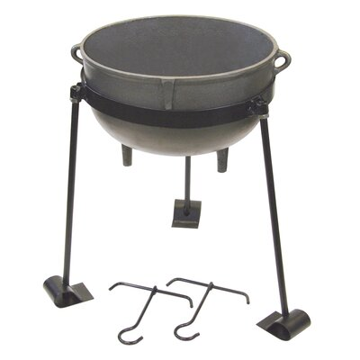 Burner Wood Jambalaya Kit Bayou Classic Pot Size 10 Gallon