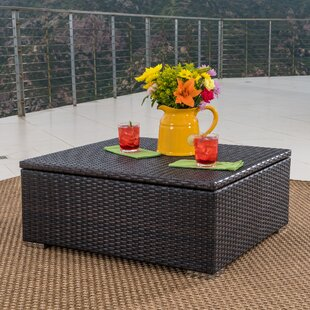 Wrought Studio Friddle Wicker Coffee Table