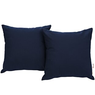 Keiran Outdoor Sunbrella Throw Pillow (Set of 2)