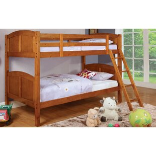 Check Prices Azalea Twin Over Twin Bunk Bed by A&J Homes Studio Reviews (2019) & Buyer's Guide