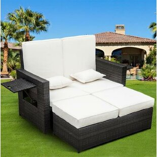 Sequim Garden Daybed With Cushions By Sol 72 Outdoor