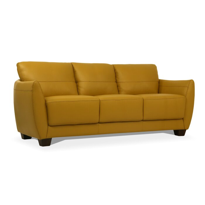 Pleasant Doud Leather Sofa Customarchery Wood Chair Design Ideas Customarcherynet