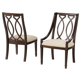 Andraid Upholstered Dining Chair (Set of 2) by Canora Grey