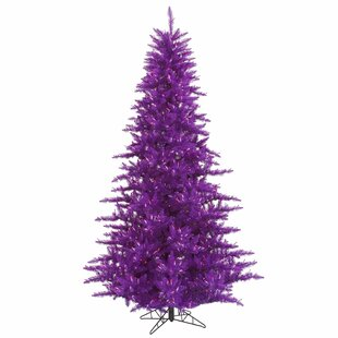 Purple Christmas Tree Lights.Purple Christmas Trees You Ll Love In 2019 Wayfair