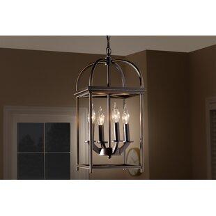 Emelle 4-Light Lantern Pendant by Charlton Home