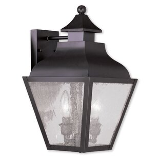 Reviews Gahagan 2-Light Outdoor Wall Lantern By Alcott Hill