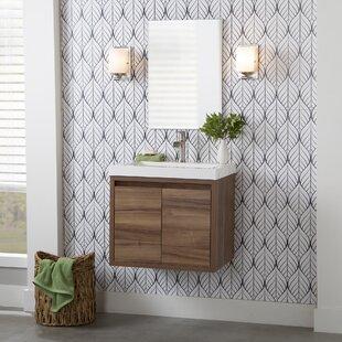 Taupe Bathroom Vanity Wayfair