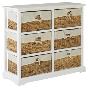 Carolina 6 Drawer Chest By August Grove
