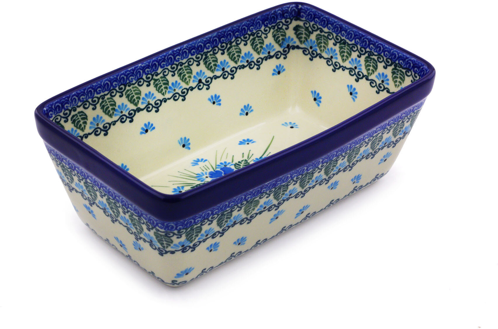 The Holiday Aisle Rowen 1 14 Qt Stoneware Rectangular Pottery Baking Dish Wayfair