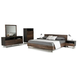 Steiner Platform 5 Piece Bedroom Set by Wrought Studio 2019 Online