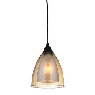 Albany 1-Light Cone Pendan..