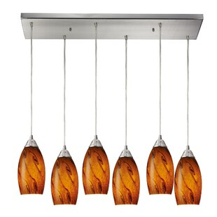Brayden Studio Panek 6-Light Kitchen Island Pendant