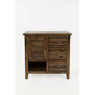 Arviso 1 Door Accent Cabinet by Loon Peak