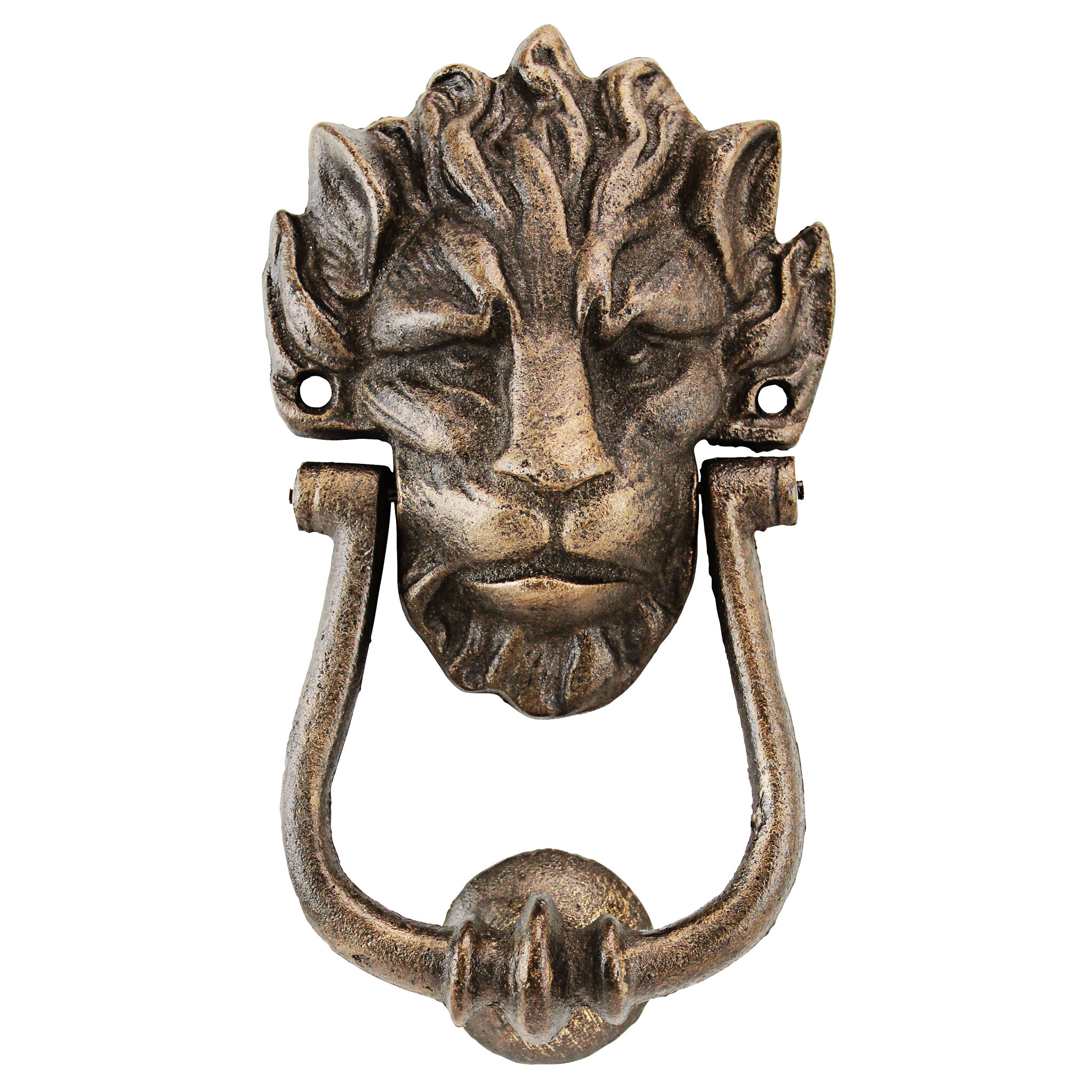 Design Toscano 10 Downing Street Lion Authentic Foundry Door Knocker U0026  Reviews | Wayfair