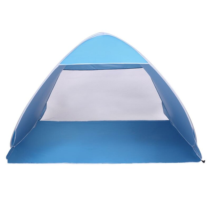 Rebuyhome Outdoor Camping Pop Up Beach 3 Person Tent With Carry Bag Wayfair