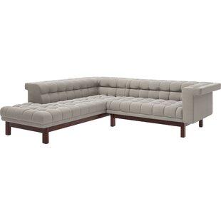George Corner Sectional Sofa With Per