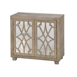 Theodora2 Door Accent Cabinet by Bungalow Rose