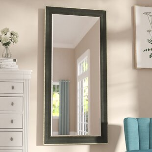 Affordable Vintage Black Beveled Wall Mirror By Three Posts